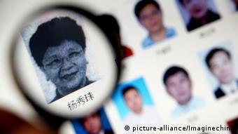 China Yang Xiuzh Fahndung Festnahme