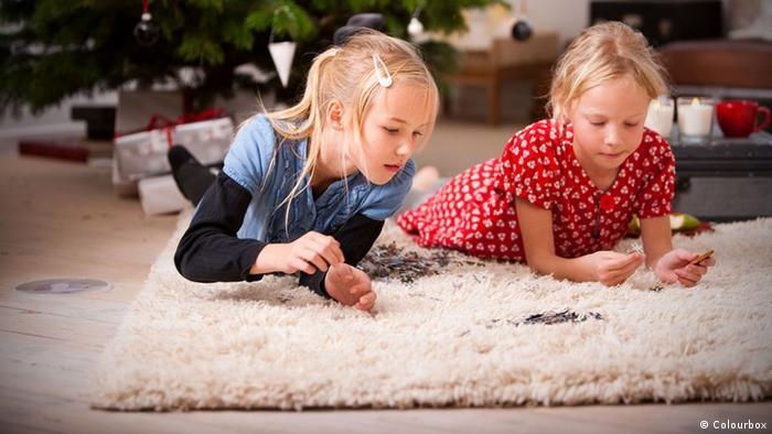 Wohnzimmer Teppich Kinder Hygiene Schmutz Krankheit