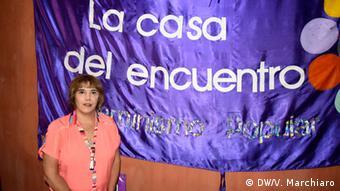 En la foto, la directora de la Casa del Encuentro, Fabiana Túñez.