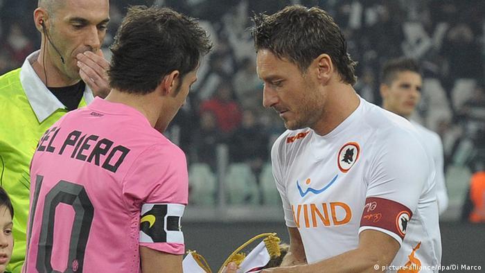 Francesco Totti und Alessandro Del Piero
