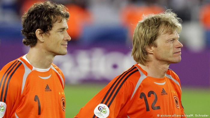 Jens Lehmann und Oliver Kahn