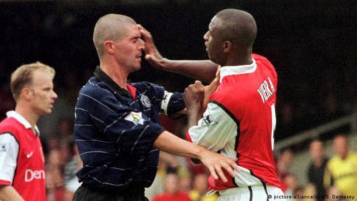 Roy Keane und Patrick Vieira
