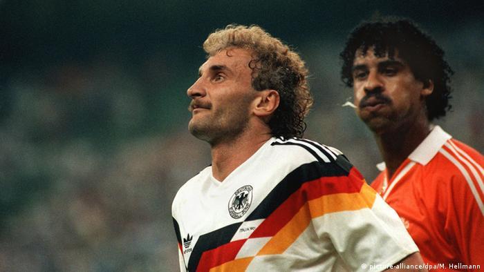 Frank Rijkaard und Rudi Völler