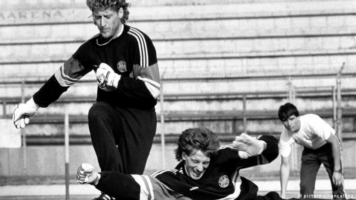 Harald Toni Schumacher und Uli Stein