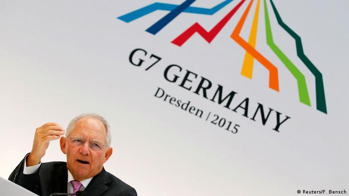 Deutschland G7-Finanzministertreffen in Dresden