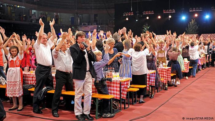 Publikum beim Musikantenstadl