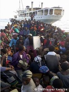 Ruanda Kagunga Flüchtlinge