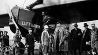 Lufthansa wird 80 Jahre Maschine Fokker F III 1926