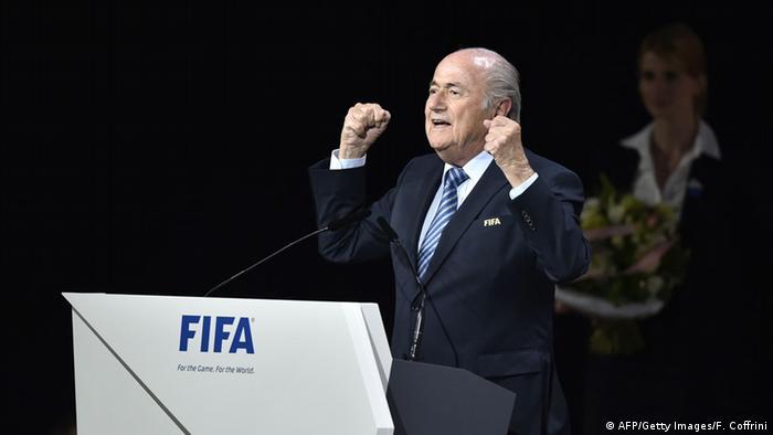 FIFA Kongress Sepp Blattter
