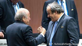 FIFA Kongress Blatter Platini