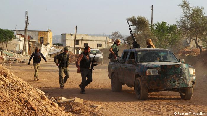 Kämpfe in Syrien zwischen Armee und Aufständischen