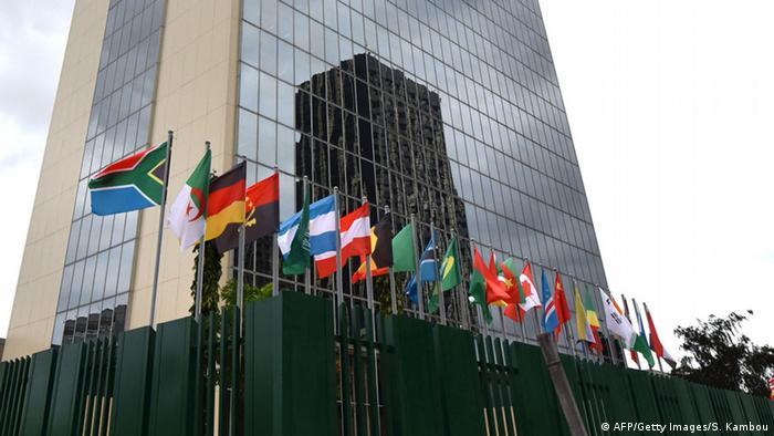 Sede do Banco Africano de Desenvolvimento (BAD) em Abidjan, na Costa do Marfim