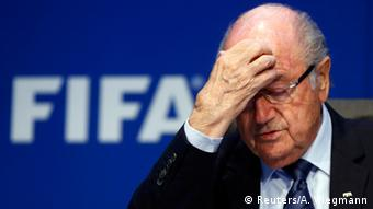 FIFA Kongress Blatter