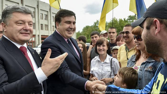 30 мая 2015 года: Михаил Саакашвили вступил в должность губернатора Одесской области