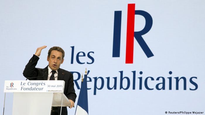 Nicolas Sarkozy gibt Parteivorsitz auf