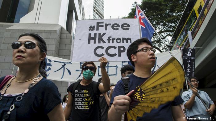 Hong Kong Proteste um Wahlrecht