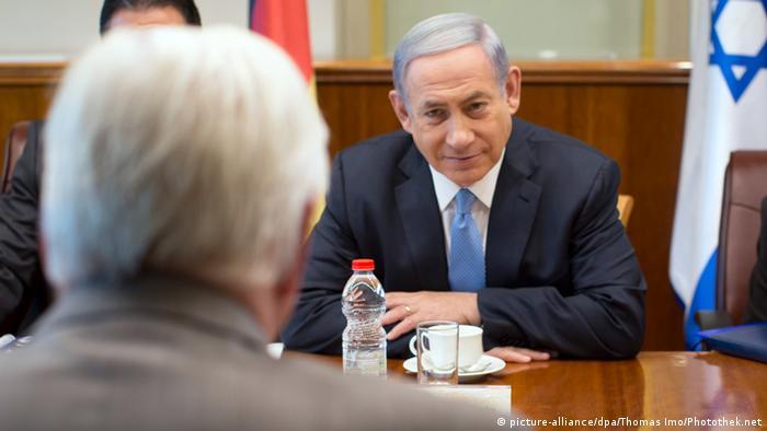 Frank-Walter Steinmeier Benjamin Netanjahu Israel