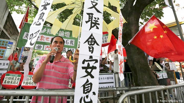 Hong Kong Protest Demokratie