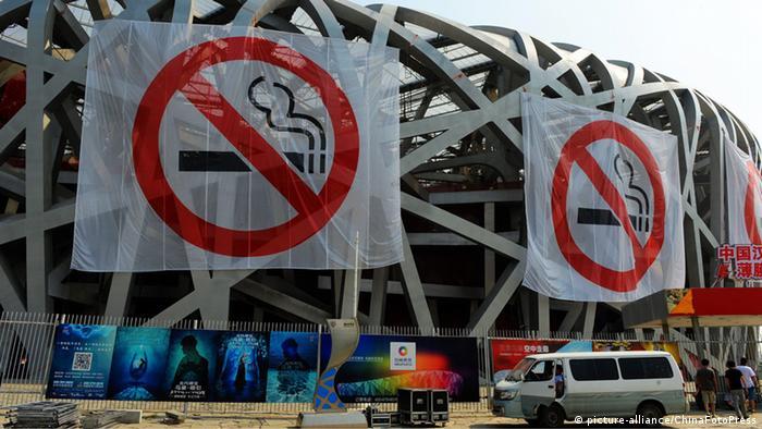 China Raucher Rauchen Gesundheit Weltnichtrauchertag
