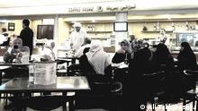 Title: Break Café Bildbeschreibung: Break Café in Medina. Quelle: Ali Takhtkeshha