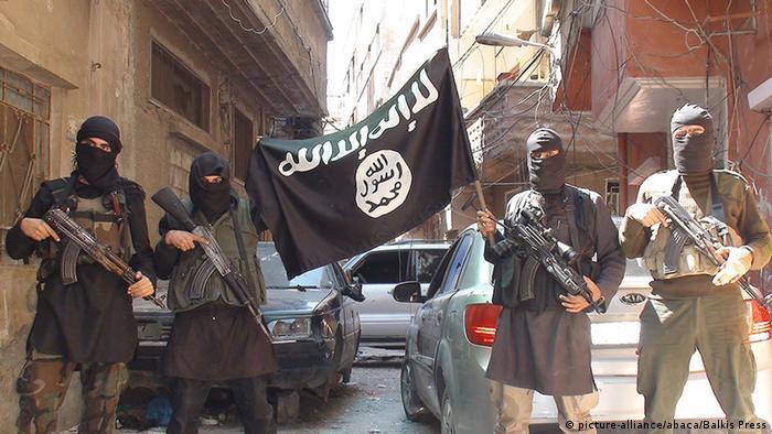 Бійці Ісламської держави (фото з архіву)