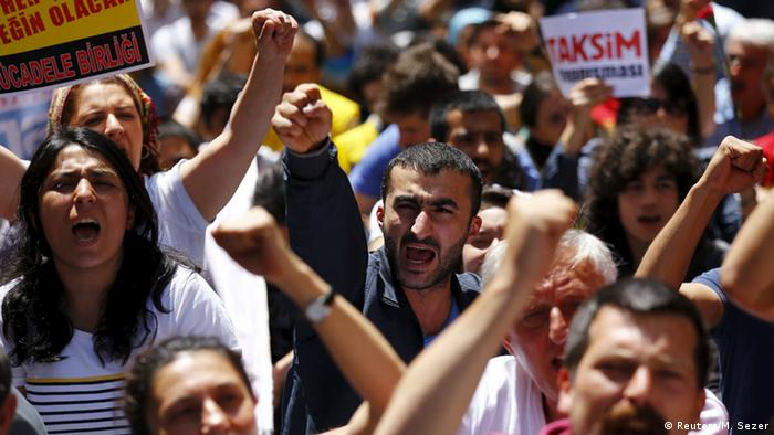 Gezi Park protests in Istanbul, 31.05.2015