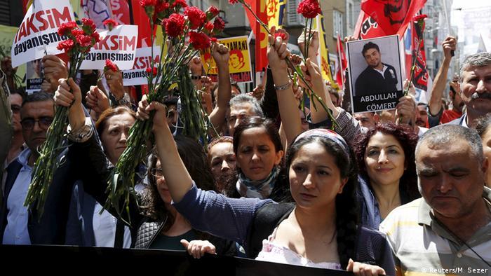 Türkische Regierungsgegner erinnern an Gezi-Proteste
