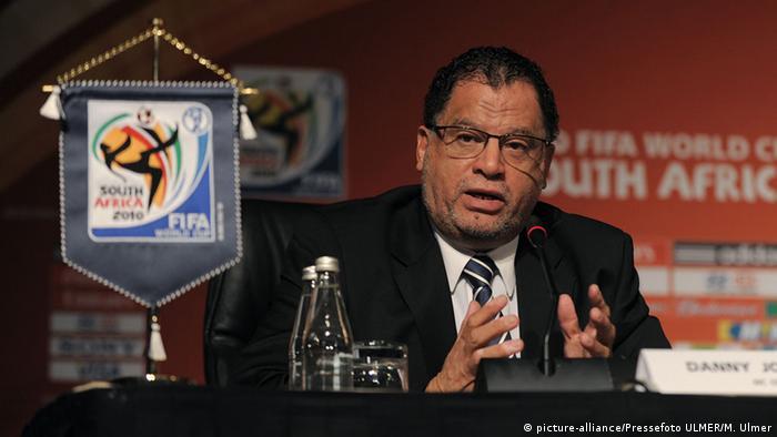 South African football association president Danny Jordaan