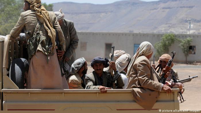 Jemen Rebellen Schiiten