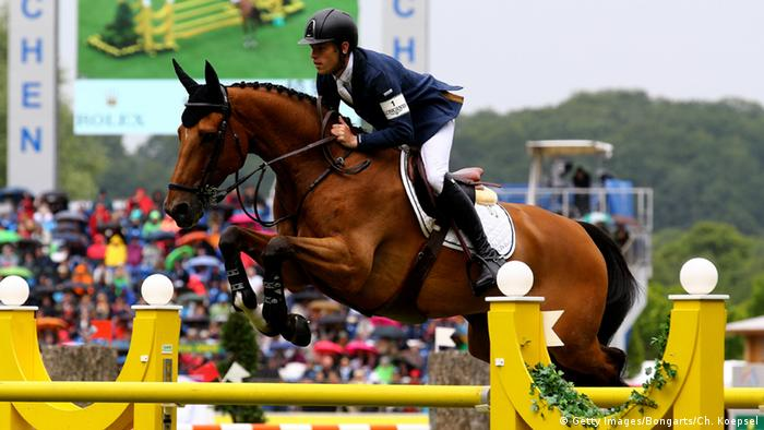 Scott Brash Reitturnier in Aachen