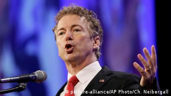 USA - Politiker Rand Paul