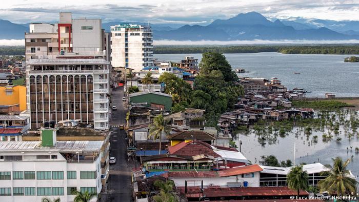 Kolumbien Buenaventura Hafenstadt an der Pazifikküste