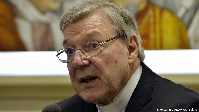 Vatikan Australien George Pell Kardinal (Getty Images/AFP/A. Solaro)