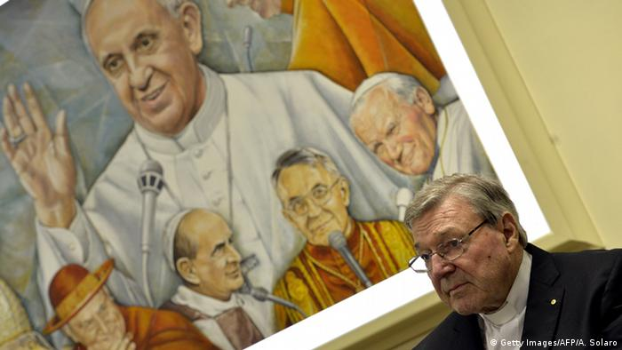 Australian Cardinal George Pell, Prefect of the Secretariat for the Economy of the Holy See, attends a press conference on March 31, 2014 in Vatican (Photo: ANDREAS SOLARO/AFP/Getty Images)