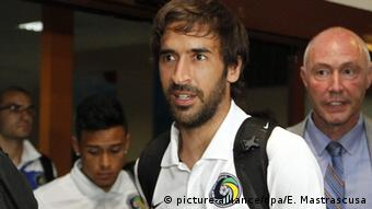 Raul arrives at Havanna airport