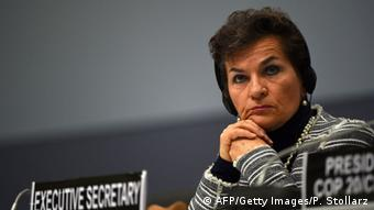 Christiana Figueres, former Executive Secretary of the United Nations Framework Convention on Climate Change, in Bonn