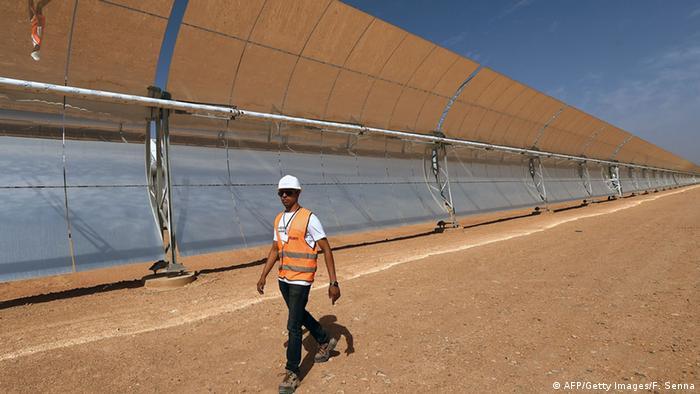 Solarthermisches Kraftwerk Noor 1 in Marrokko