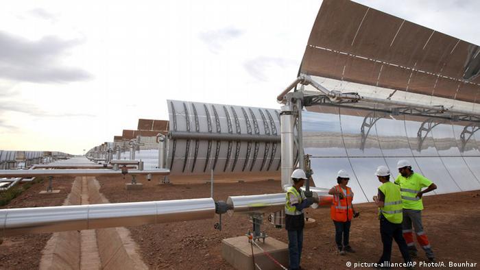 Noor Ourzazate power plant