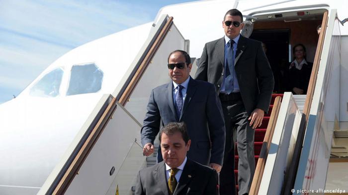 Ägypten Frankreich Präsident Abdel Fattah al-Sissi