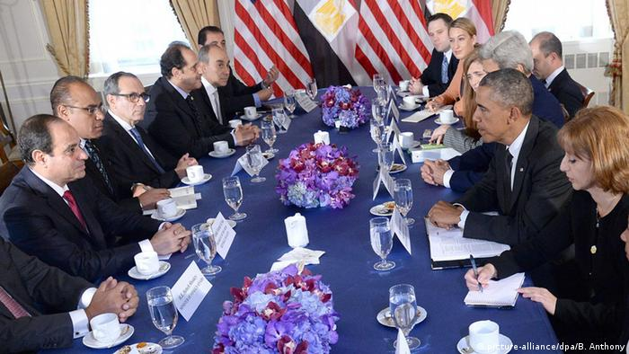Ägypten US Präsident Abdel Fattah al-Sissi und Barack Obama
