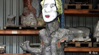 Mozart-Skulptur von Markus Lüpertz