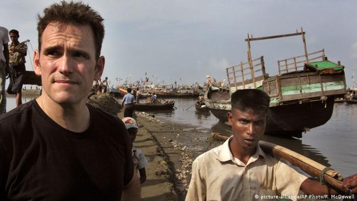 Schauspieler Matt Dillon in Myanmar