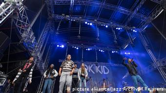 OK KID at the Dockville Festival, Copyright: picture alliance/Jazz Archiv/M.Reimers.