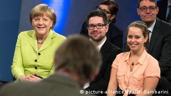 Deutschland Bürgerdialog mit Merkel