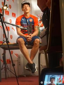 Özil in interview with DW in London