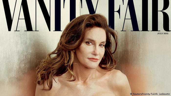 USA Caitlyn Jenner Transgender Vanity Fair Cover