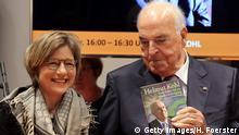 Helmut Kohl Buchvorstellung Vom Mauerfall zur Wiedervereinigung