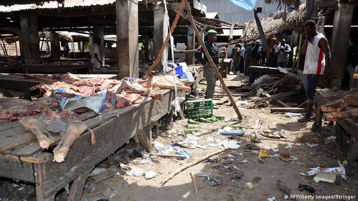 Selbstmordanschlag in Maiduguri, Nigeria (AFP/Getty Images/Stringer)