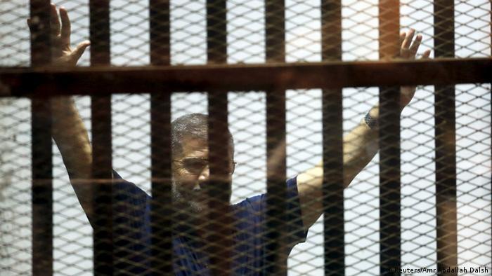Ehemaliger ägyptischer Präsident Mursi