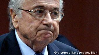 Blatter Joseph FIFA Zürich Präsident Fußball